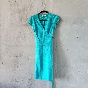 100% Silk Calypso St Barth Wrap Dress